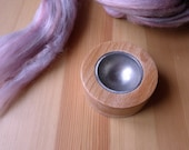 Spindle bowl Spinning support bowl Wooden