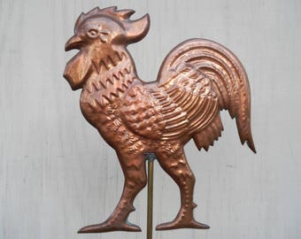Table Top Copper Rooster Weathervane!