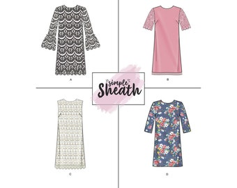 Simplicity Sewing Pattern 8293 Misses'/Miss Petite Dresses