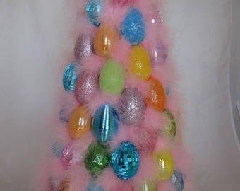 Shabby Kitsch Easter Egg Tree