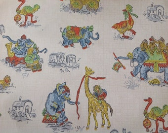 Vintage childrens wallpaper for crafts projects arts