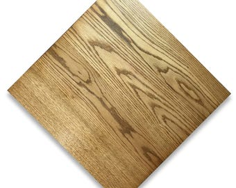 Custom Size Oak Wood Table Top For Restaurants U0026 Residential (Made To  Order) |