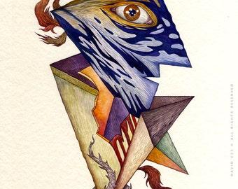 Untame Me - Original Watercolor