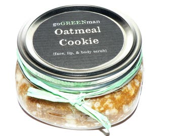 Oatmeal Cookie Face Lip and Body Scrub