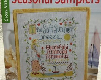 Seasonal Samplers Counted Cross Stitch Booklet