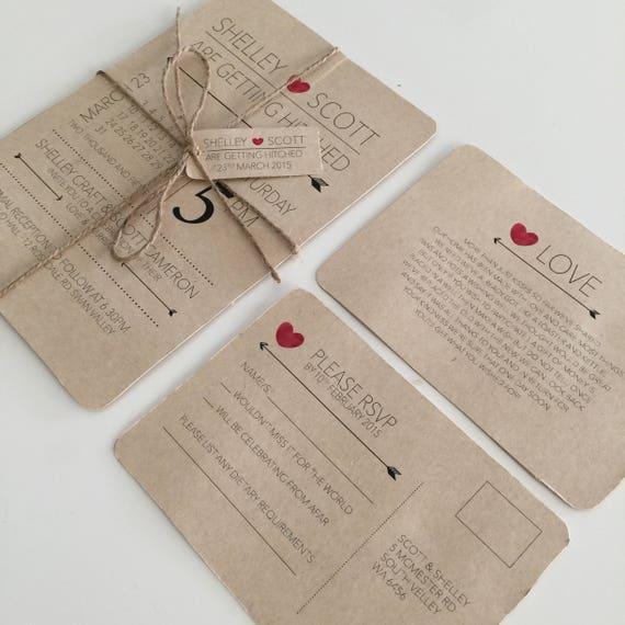 Printable Wedding Invitation Sets: Wedding Invitation Printable Wedding Invitation Set Wedding