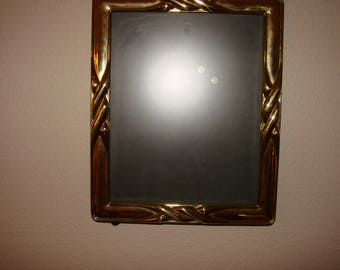Vintage Brass Decorative 8x10 Picture Frame