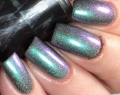 Netflix & Chill by CANVAS lacquer - a multichrome with holo