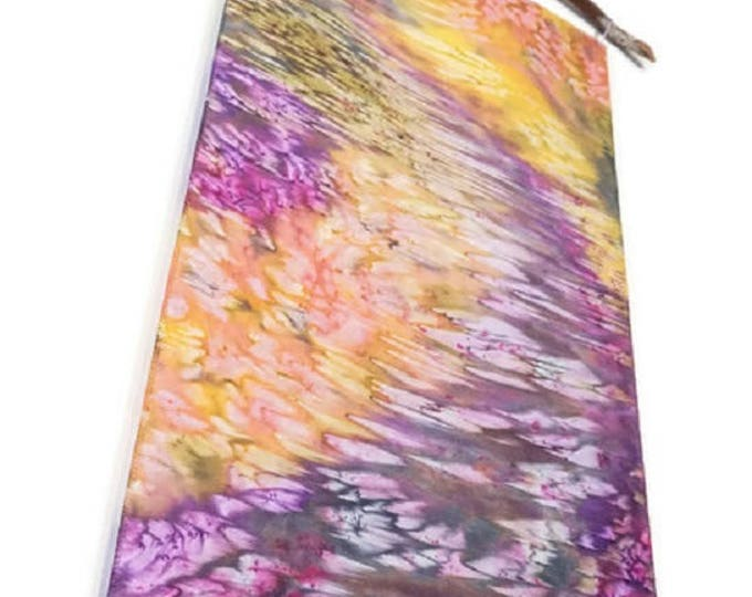 Abstract Art-Watercolor Silk Tapestry-Tropical Decor-Bohemian Tapestry-Purple Decor-Spring Decor-Home Decor Gifts-Watercolor Home Decor
