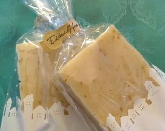 All Natural Lemon Cream Handmade Soap - 2 Bars