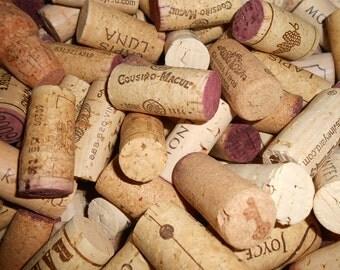 400 used wine corks