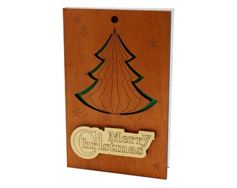 christmas tree card merry christmas card christmas greeting card with christmas tree - Christmas Tree Card