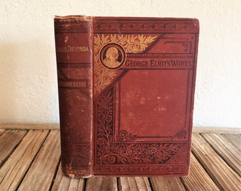 Vintage Book Titled Daniel Deronda George Eliot