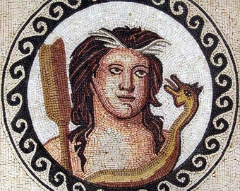 Medallion The Portrait of the Greek God Of Shepherds