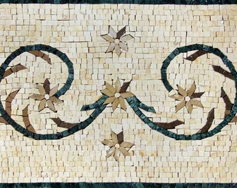 Mosaic Marble Frame Art