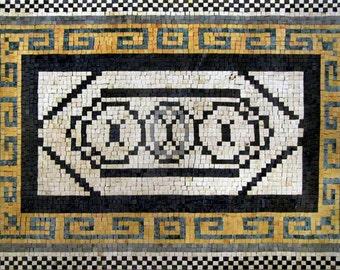 Rectangular Stone Art