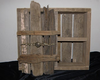 Driftwood Wall Cabinet - Reclaimed Wood