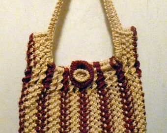 MACRAME BAG (on sale)