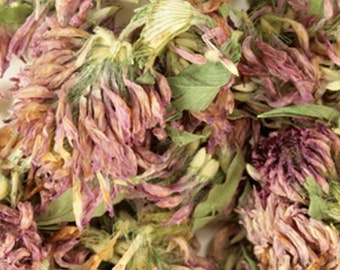 Red Clover Blossoms - Certified Organic