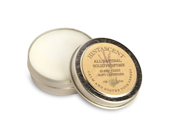 All Natural Solid Perfume By Hintascent 1/2 oz