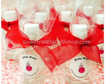 Set of 20 Bridal/Baby Shower Body Wash Favors