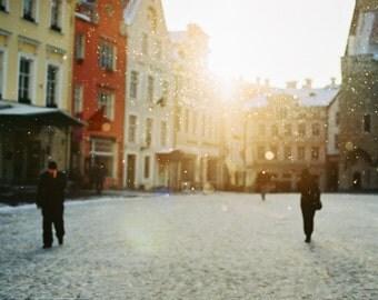 Home Decor, Travel Photography, Fine Art Photography, Winter in Tallinn
