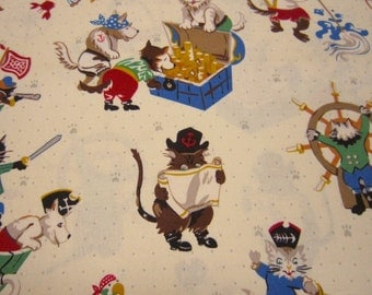 Pirate Pups Cotton Fabric by Alexander Henry from 2010