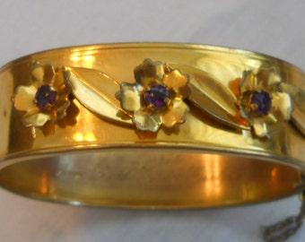Vintage gold filled bracelet - 1950s