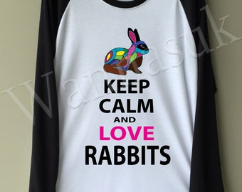 Bunnies long sleeve T-shirts, Bunnies Clothing, Bunny Sweatshirt, Cool Rabbits T-shirts, Summer T-shirts, Summer Clothing, Bunny Clothing