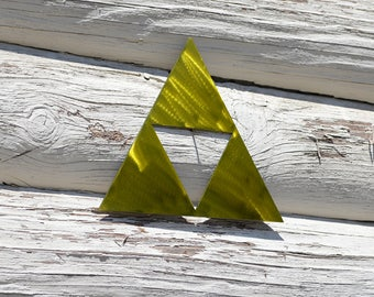 The Legend of Zelda Triforce Metal Art