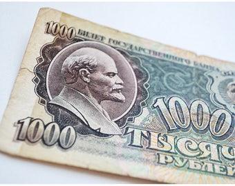 USSR banknotes