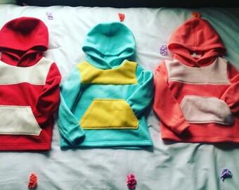 ColorBlock Hoodies
