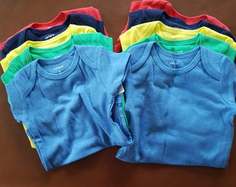 Color Baby Bodysuit Add on