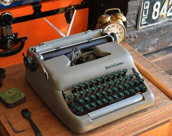 Smith Corona Sterling Portable Manual Typewriter - Made in Canada - 100% Functional