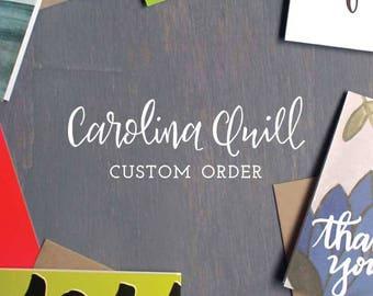 Custom Order for Dana