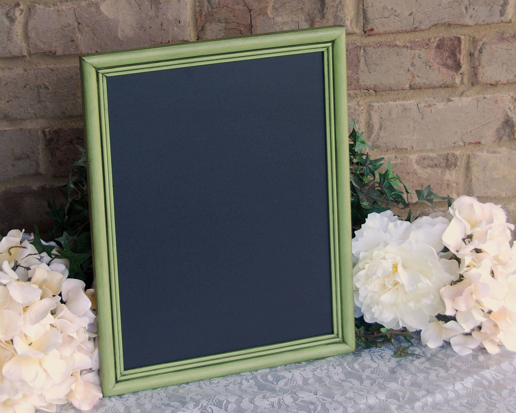 Country Farmhouse Framed Chalkboard Vintage Apple Green 10x13 Il Fullxfull  Country Farmhouse Framed Chalkboard Vintage Apple Green 10x13 Chalkboard  Kitchen ...