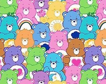 Retro Care Bears Cotton Mix