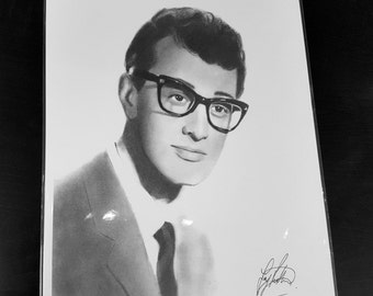 Buddy Holly pencil drawing