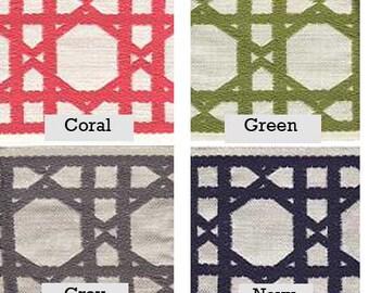 Lattis Design Ribbon Drapery Trim Add-on, for any set of drapes