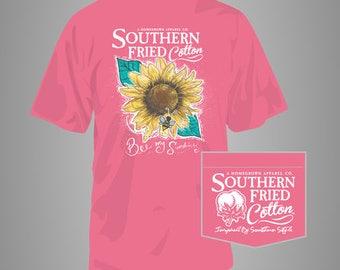 Bee My Sunshine - Adult Pocket T-Shirt - Southern Fried Cotton