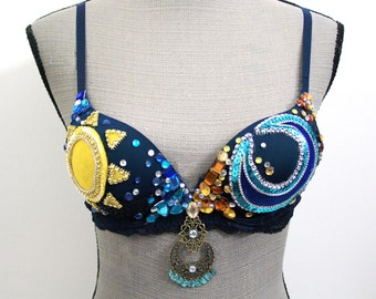 32A Sun and Moon Rave Bra