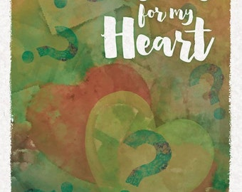 Color Your World Journal: Questions for My Heart