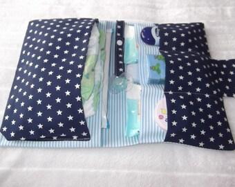 Diaper bag diaper bag Star Blue