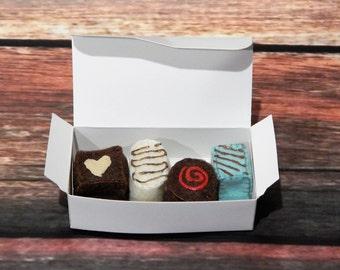 Felt Chocolates - box of chocolates, play food