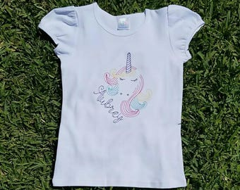 Unicorn Shirt, Unicorn Birthday Shirt, Vintage Unicorn Shirt