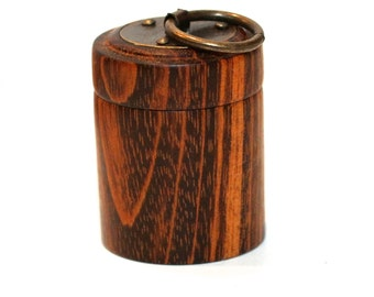 Goncalo Alves (Tigerwood) Baby Tooth Box
