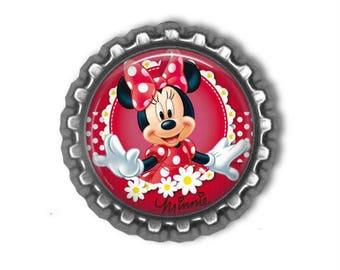 Disney MINNIE MOUSE Minnie 3D Finished Bottle Cap
