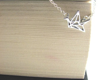 Origami Crane Necklace Inspired by Prison Break