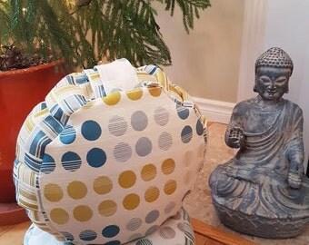Meditation Cushion-A Modern take on the Polka Dot-Zafu