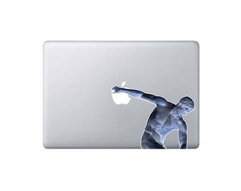 Creative MacBook Laptop decal - sticker - Discobolus - macbook sticker - any laptop - Apple decal -  Macbook Pro Laptop Skin